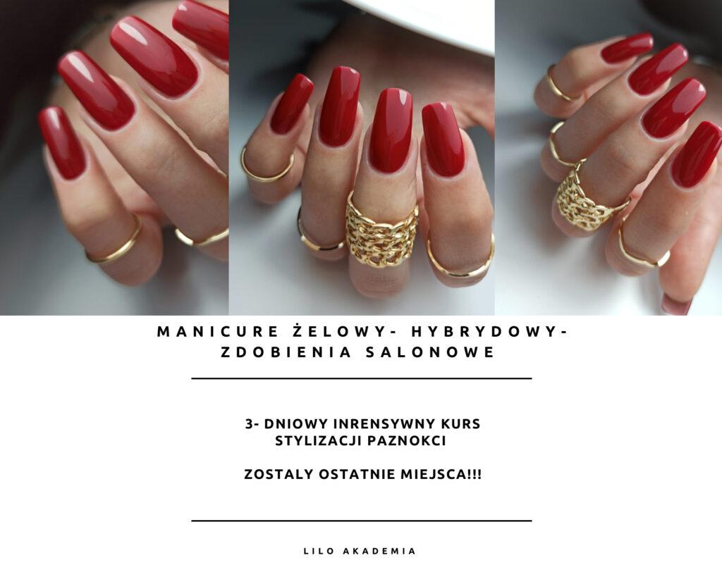 kurs stylizacji paznokci salon kosmetyczny Lilo Beauty w Zielonej Górze,