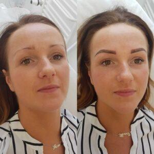 Makijaż permanentny Brwi Ombre kosmetyka