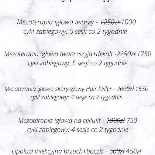 mezoterapia promocja, lipoliza promocja