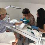 Kurs z paznokci akryl, kurs stylizacji paznokci akryl, szkolenie stylizacji paznokci akryl